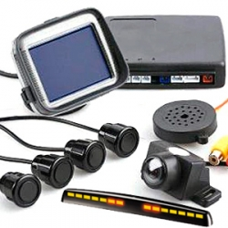 Парковочные радары, Камеры заднего и переднего вида PILOT, Мониторы/Зеркала для камер