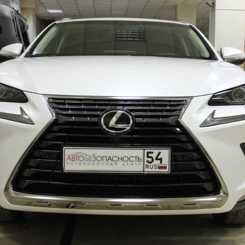 Lexus NX 300 антигравийная защита кузова