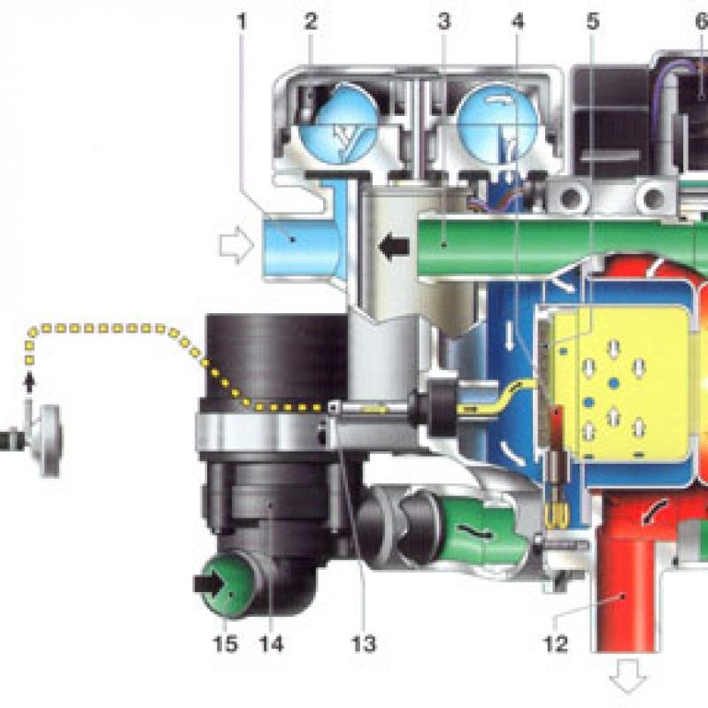 Автономный предпусковой подогреватель двигателя WEBASTO