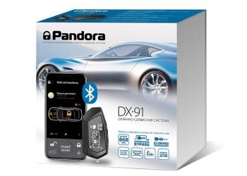 Автосигнализация Pandora DX 91- с бесключевым автозапуском, 2хCAN,LIN интерфейсом