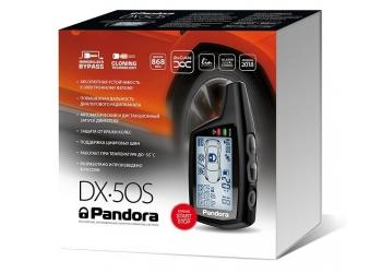 Автосигнализация Pandora DX50S  с  бесключевым автозапуском, диалоговый код, LCD- брелок, CAN-интерфейс