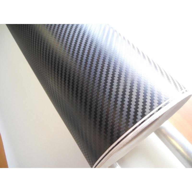GK-01 Пленка Carbon Fiber (Black) размер рулона 1,52*30м (карбон черный)