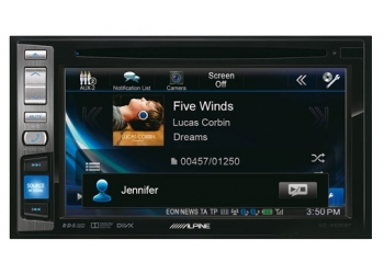 Монитор 2DIN ALPINE IVE-W585BT 2din DVD