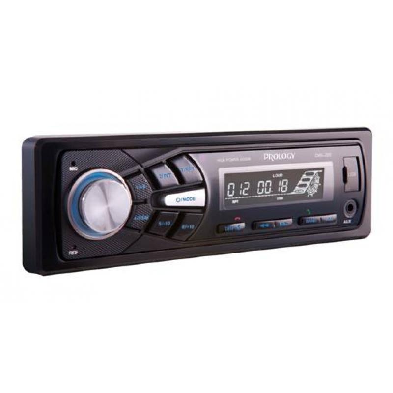 Автомагнитола PROLOGY CMX-220, 1DIN, 4X55Вт, USB, AUX-вход, Bluetooth