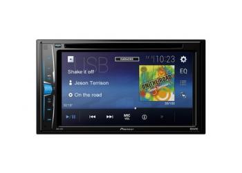 Автомагнитола PIONEER AVH-A101, Мультимедиа, 2DIN, CD/DVD-проигрыватель, 4X50Вт, USB, AUX-вход