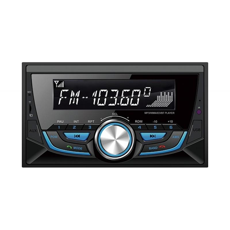 Автомагнитола SWAT WX-214UB, CD/MP3-проигрыватель, 4X50Вт, USB/SD, AUX-вход, Bluetooth