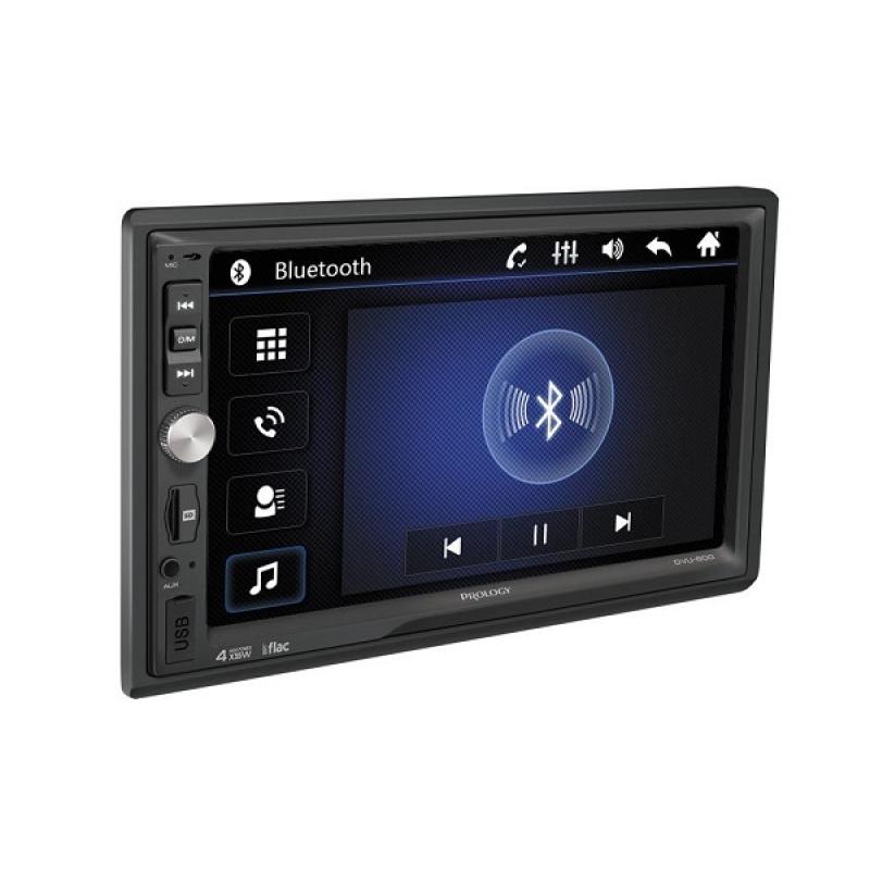 Автомагнитола PROLOGY DVU-800, Мультимедиа, 2DIN, 4X55Вт, USB/SD, AUX-вход, Сенсорный экран, Bluetooth