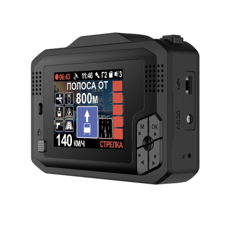 Видеорегистратор с антирадаром INTEGO VX-1000S, Сигнатурный, Ambarella A12, Super HD, GPS