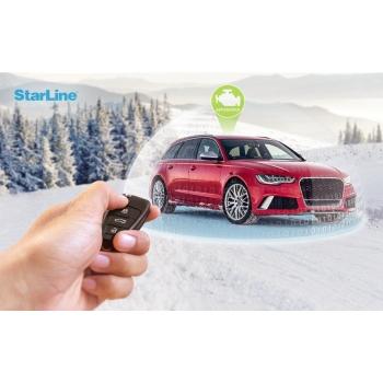 Автозапуск STARLINE штатным брелком автомобиля