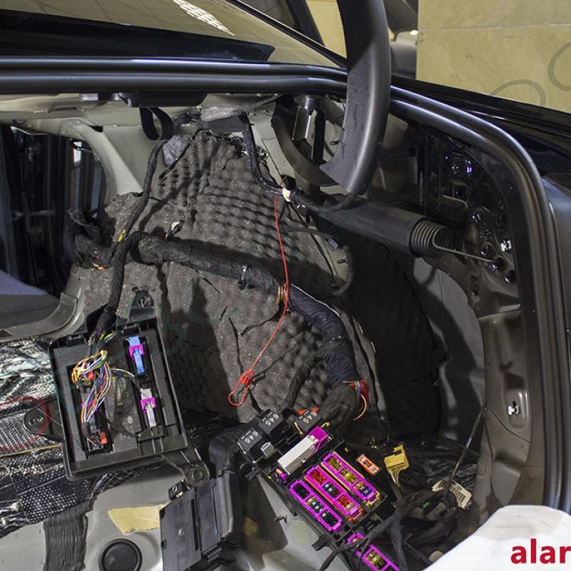 Audi A4 - Шумоизоляция багажника, Pandora DXL 3910