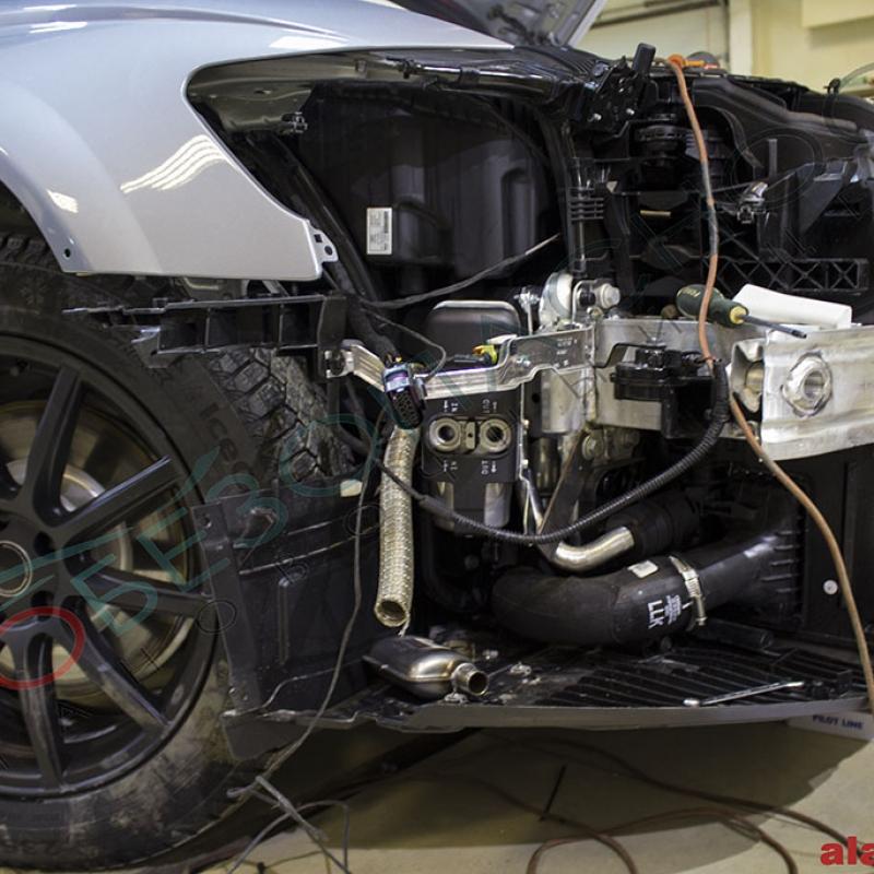 Audi A6 allroad quattro 2015 - PANDORA DXL 3910, Антигравийная защита, WEBASTO, Тонирование, Защита лобового стекла