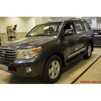 Toyota Land Cruiser - Pandora DXL 3910, Антигравийная защита, Тонирование, Защита лобового стекла