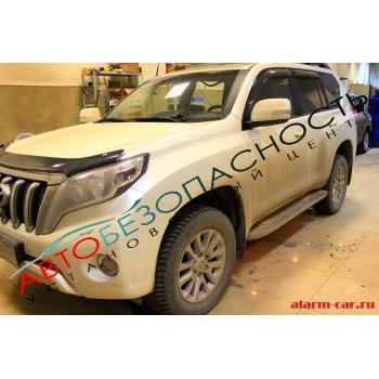 Toyota Land Cruiser Prado - Шумоизоляция салона