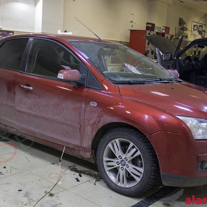 Ford Focus - Тонирование, Pandora LX 3055
