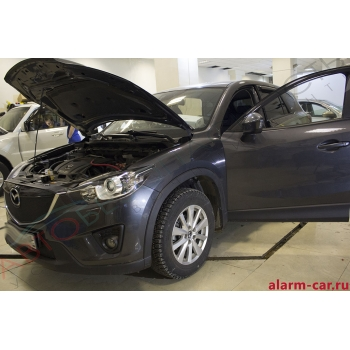 Mazda CX-5 - Автозвук, Полная шумоизоляция салона, Тонировка