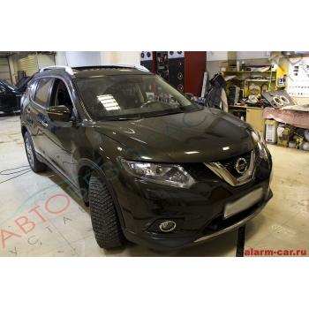 Nissan Qashqai - Авторская защита от угона, Pandora DXL 3910, Webasto