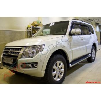 Mitsubishi Pajero - Авторская защита от угона, Защита лобового стекла, Реалезация бесключевого доступа в автомобиль, Webasto