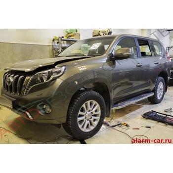 Toyota Land Cruiser Prado - Webasto, Тонирование, Шумоизоляция задних дверей