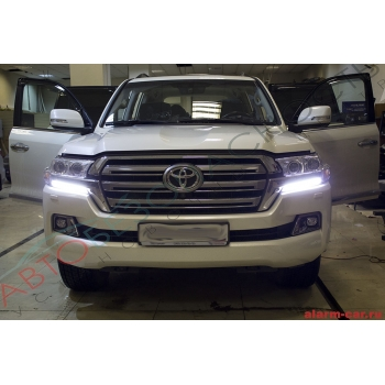 Toyota Land Cruiser - Шумоизоляция салона