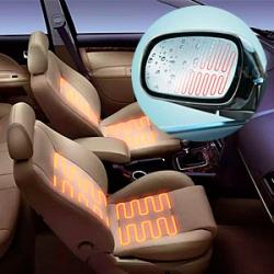 Утеплитель для двигателя, подогрев сидений, зеркал, щеток