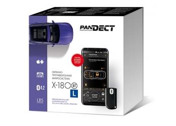 Автосигнализация Pandect X-1800L- охранно-противоугонная система  с бесключевым автозапуском, 2CAN-интерфейсом, GPS/ГЛОНАСС, GSM-модем
