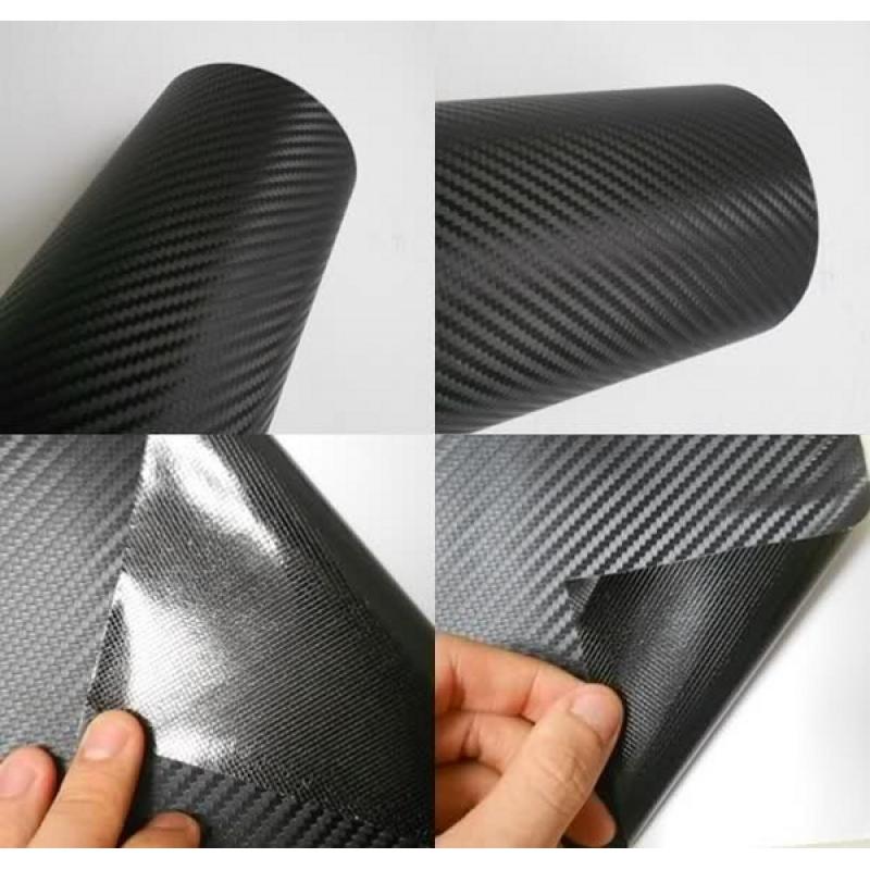 3D Carbon Fiver Vinyl (Black) размер рулона 1,52*30м (карбон черный)