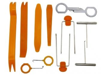 Набор инструментов для демонтажа желтый (12 предметов)