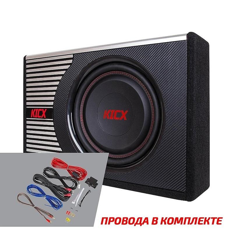 Активный корпусной сабвуфер KICX GT400BA, 12, 400/1000Вт, 90дБ