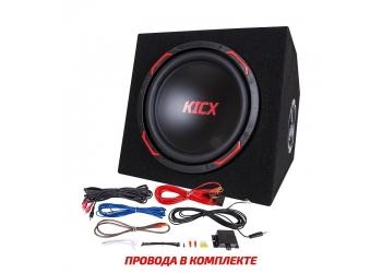 Активный корпусной сабвуфер KICX GT301BA, 12, 300/900Вт, 90дБ