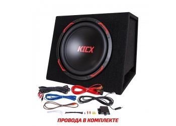 Активный корпусной сабвуфер KICX GT310BPA, 12, 300/900Вт, 90дБ