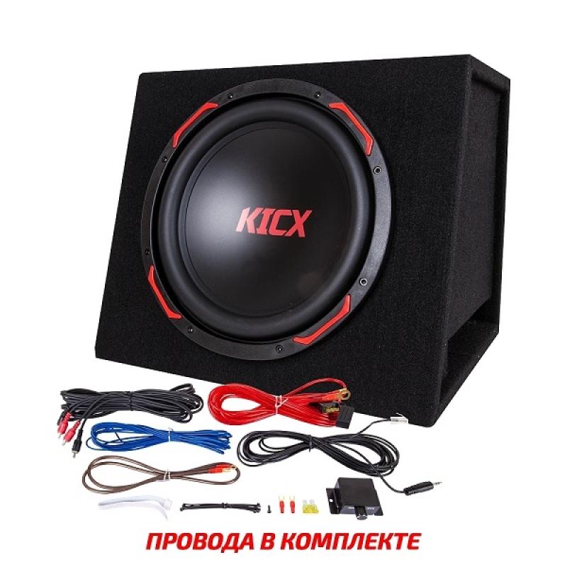 Активный корпусной сабвуфер KICX GT310BPA, 300/900Вт, 90дБ