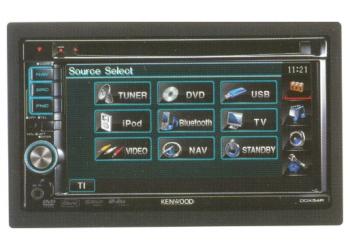 Монитор+DVD проигрыватель Kenwood DDX-54R (распродажа)