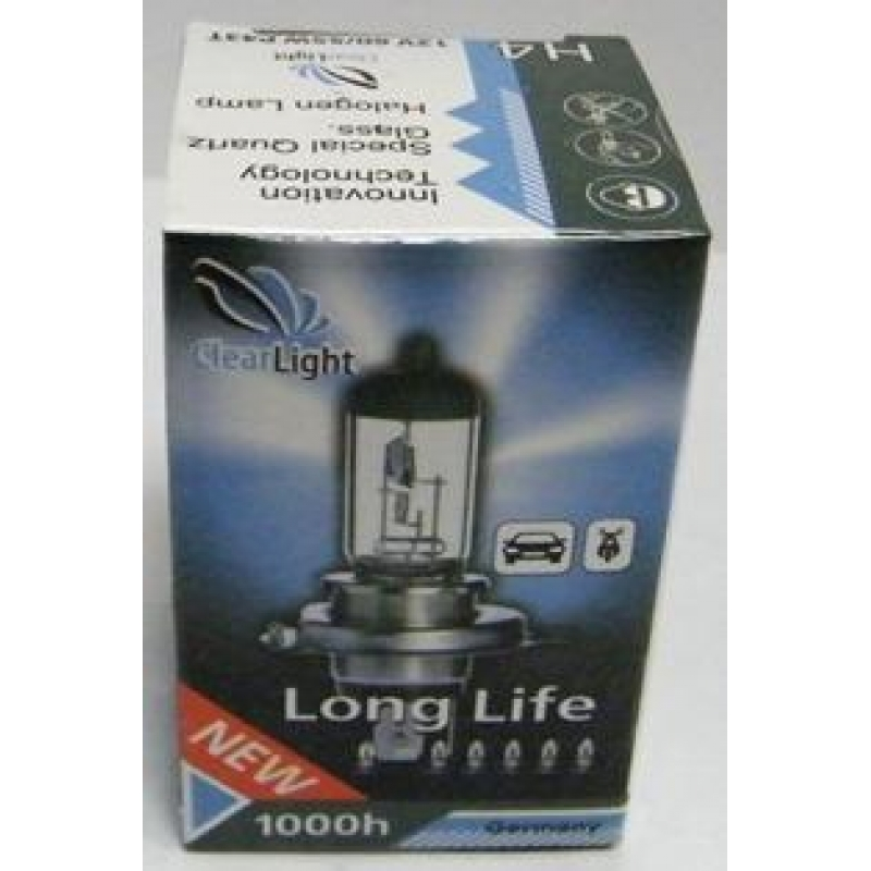 Галогеновая лампа Clearlight H1 LongLife 1 шт