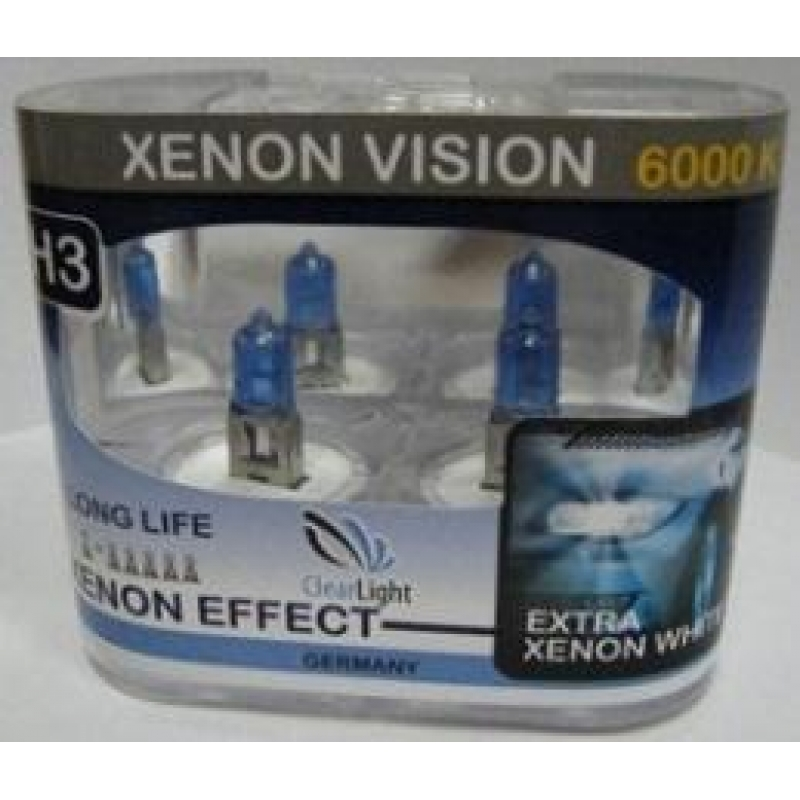 Галогеновая лампа Clearlight  H7  Xenon Vision 2 шт