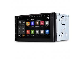 Автомагнитола Marcus DVU-7003A, Мультимедиа, Android, Navigation GPS/Glonass, 4X50Вт, Car Play, 2USB, SD, Bluetooth, Wi-Fi