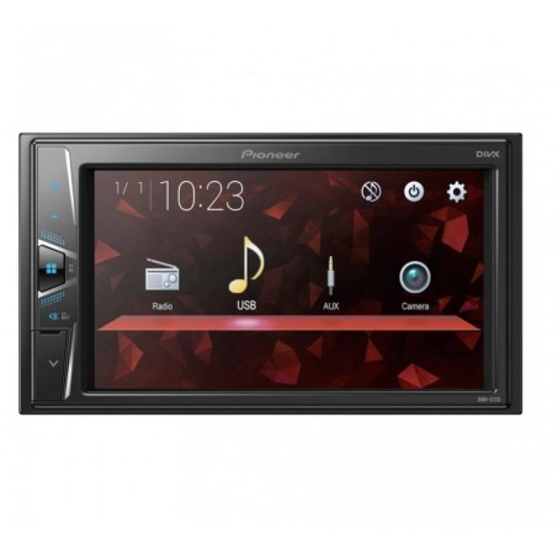 Автомагнитола PIONEER DMH-G120, Мультимедия, 2DIN,4х50Вт, USB, AUX-вход, Сенсорный экран