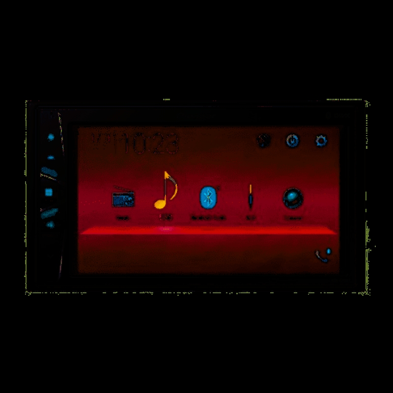 Автомагнитола PIONEER DMH-G221BT, Мультимедия, 2DIN,4х50Вт, USB, BT, AUX-вход, Сенсорный экран