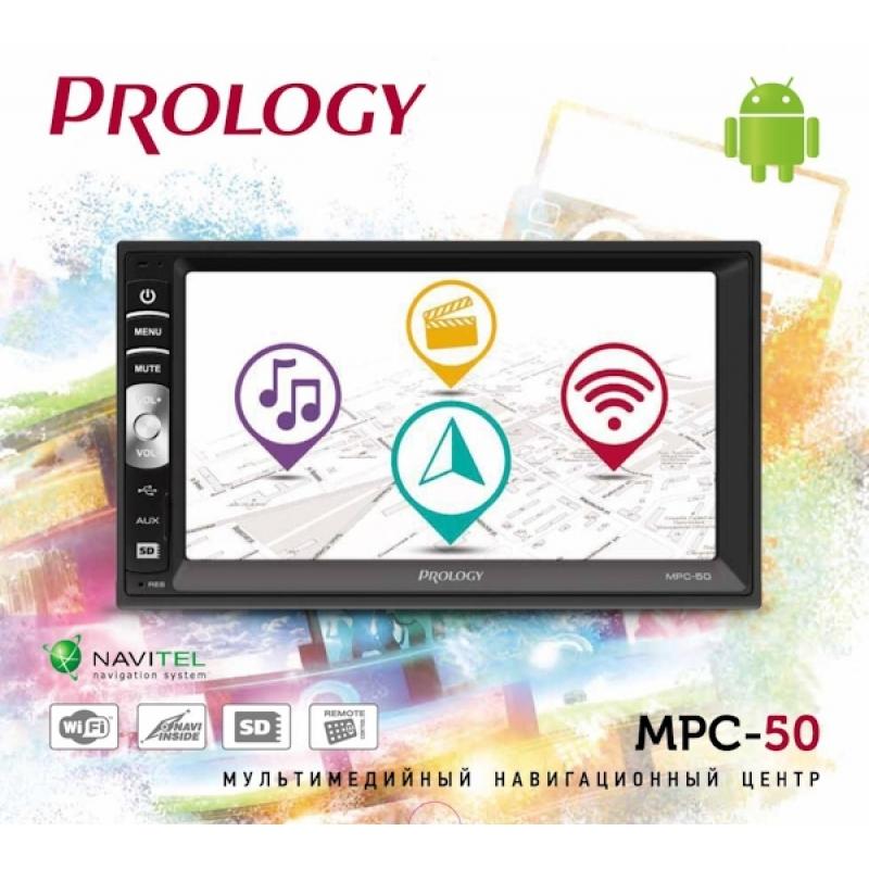 PROLOGY MPC-50 мультимедийный навигационный центр
