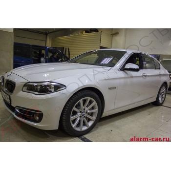 BMW 5-Series - Реализация бесключевого доступа в автомобиль, Бронирование стекл, Webasto, Pandora DLX 3945