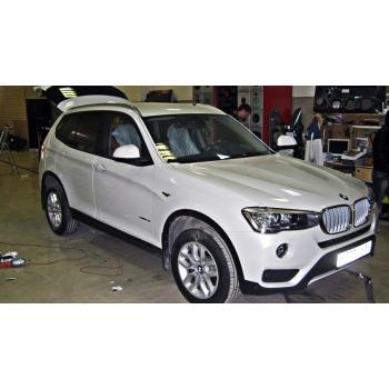 BMW X3 2015 - Полная шумоизоляция