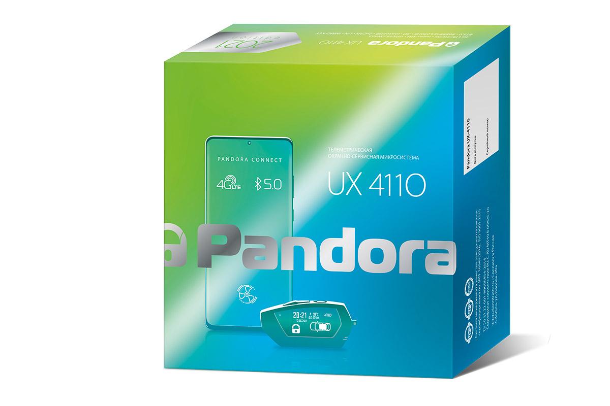 Новая микросигнализация Pandora UX-4110.